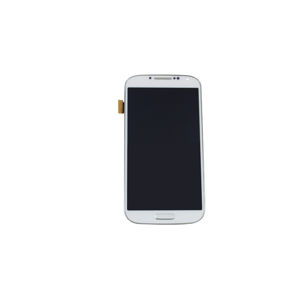 Galaxy S4 LCD-Glass Replacement I337-M919 Frame - White