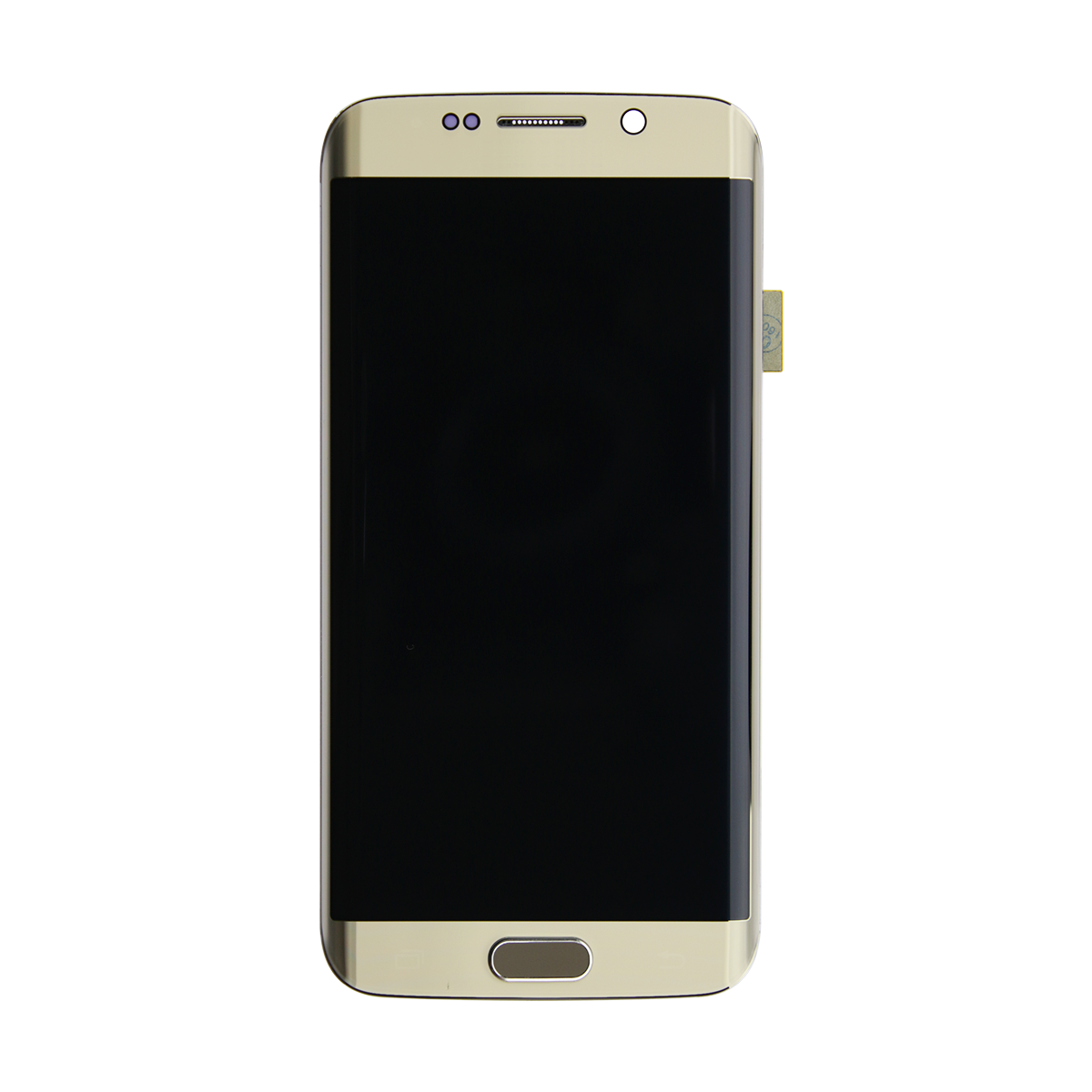 Galaxy S6 Edge- LCD-Glass replacement G925V Frame – White – Mobile ...