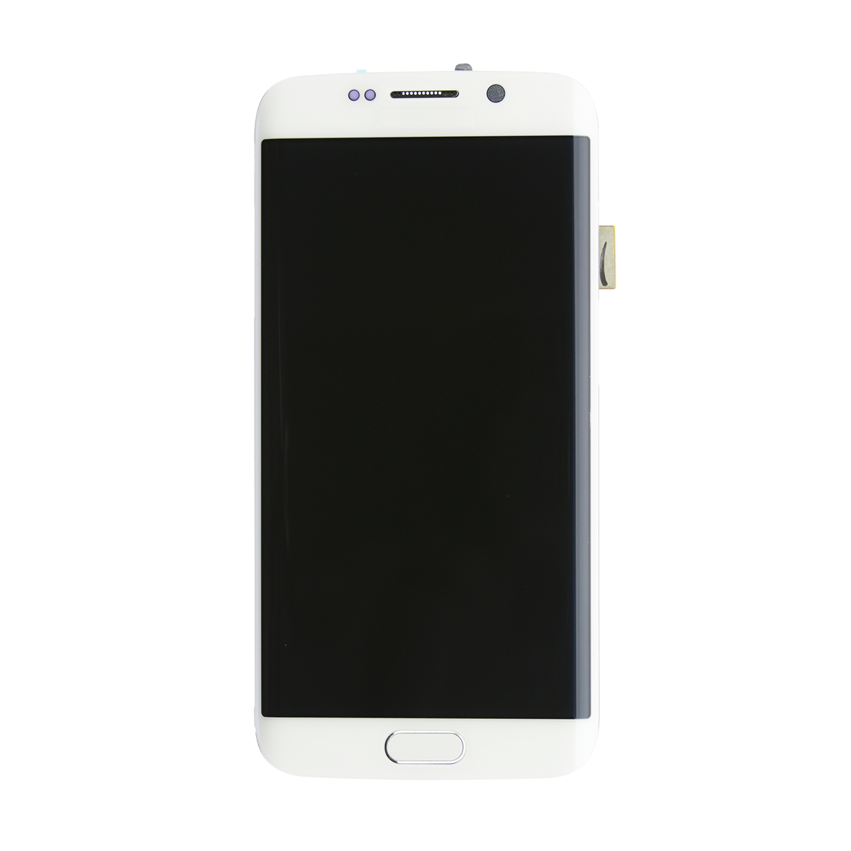 galaxy s6 edge lcd glass replacement g925v frame white mobile rescue - Mobile Frame