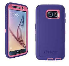 Galaxy S6 Defender Case – Purple & Pink