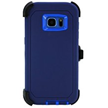 Galaxy S7 Edge Defender Case – Blue & Blue