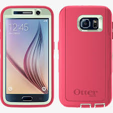 Galaxy S7 Edge Defender Case – Pink & White
