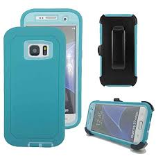 Galaxy S7 Edge Defender Case – Teal & Teal