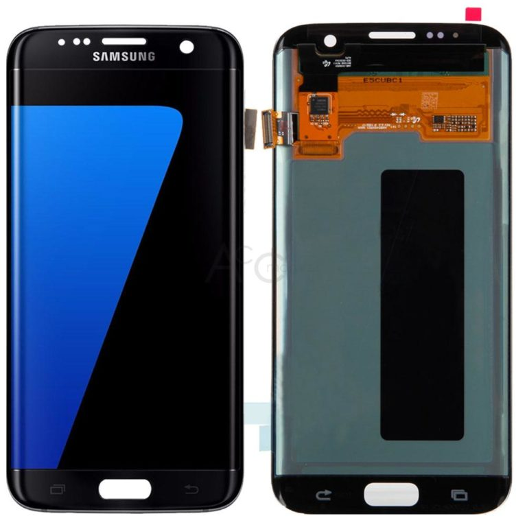 Galaxy S7 Edge- LCD-Glass replacement- Black