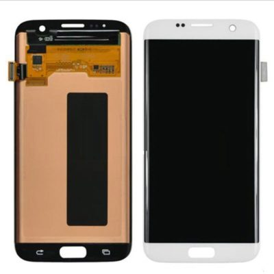 Galaxy S7 Edge- LCD-Glass replacement- white