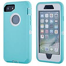 iPhone 7 4.7″ Defender Case – Teal & Teal2