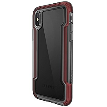 wholesale dealer 55b35 18b83 iPhone X Case Defense Clear - X-Doria - Red